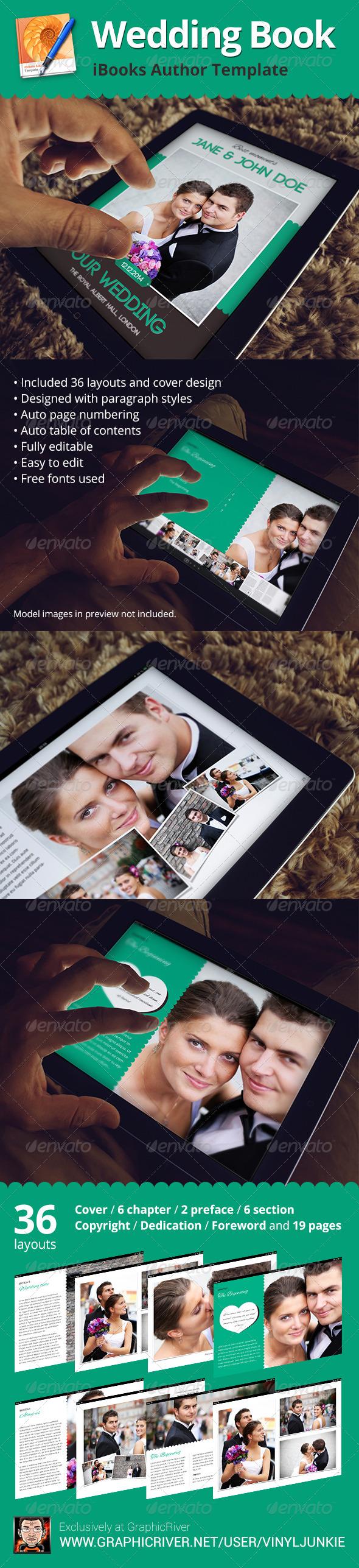 Wedding Book - iBooks Author Template - Digital Books ePublishing