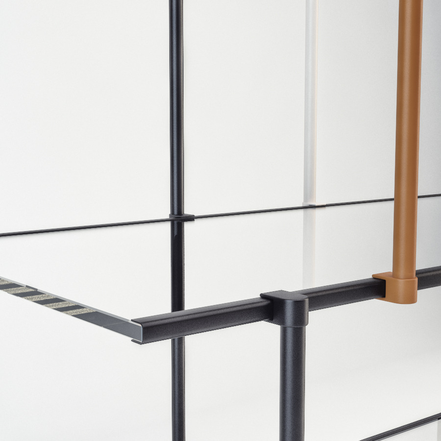 drizzle shelves by gallotti radice by luckyfox 3docean. Black Bedroom Furniture Sets. Home Design Ideas