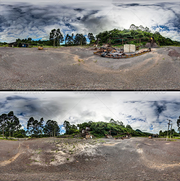 2 images in 360º - Brazilian coast - Quarry - 3DOcean Item for Sale