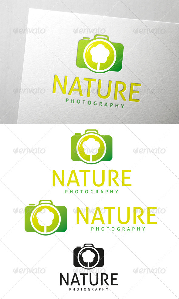 Nature Photography Logo - Objects Logo Templates