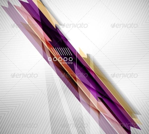 Geometric Shape Straight Stripes Background - Backgrounds Decorative