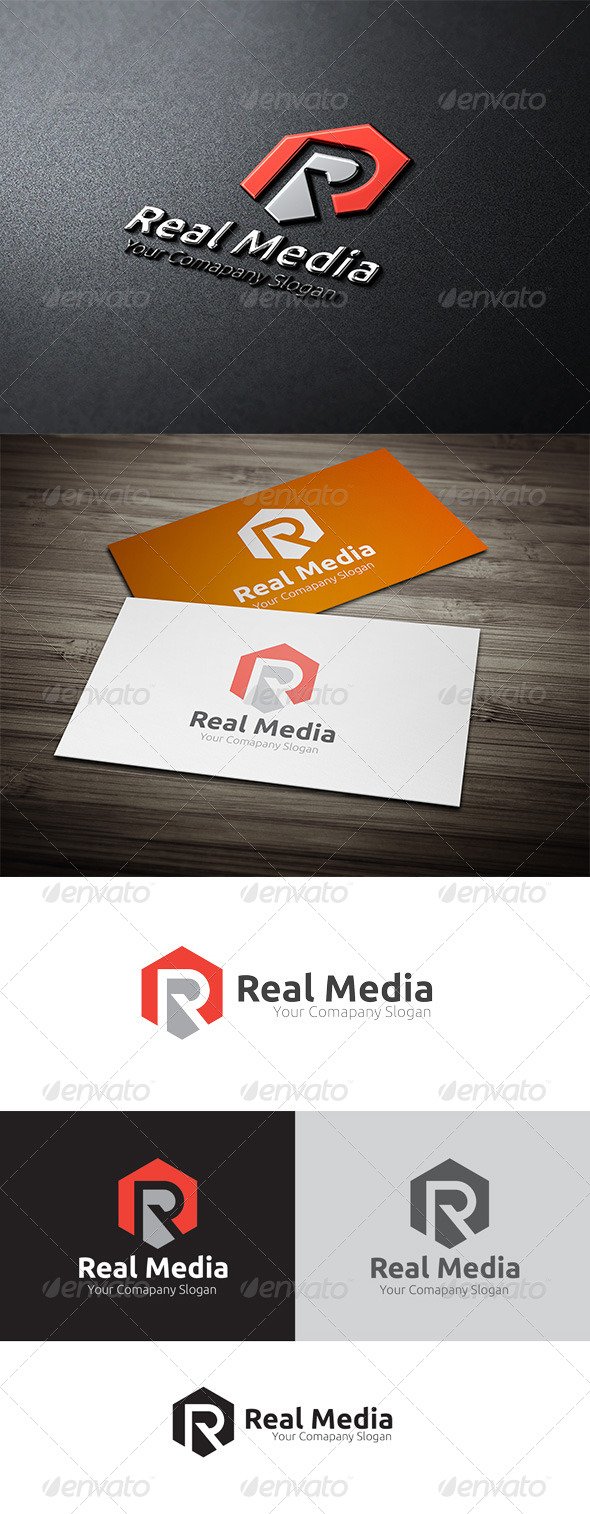 Real Media - Objects Logo Templates