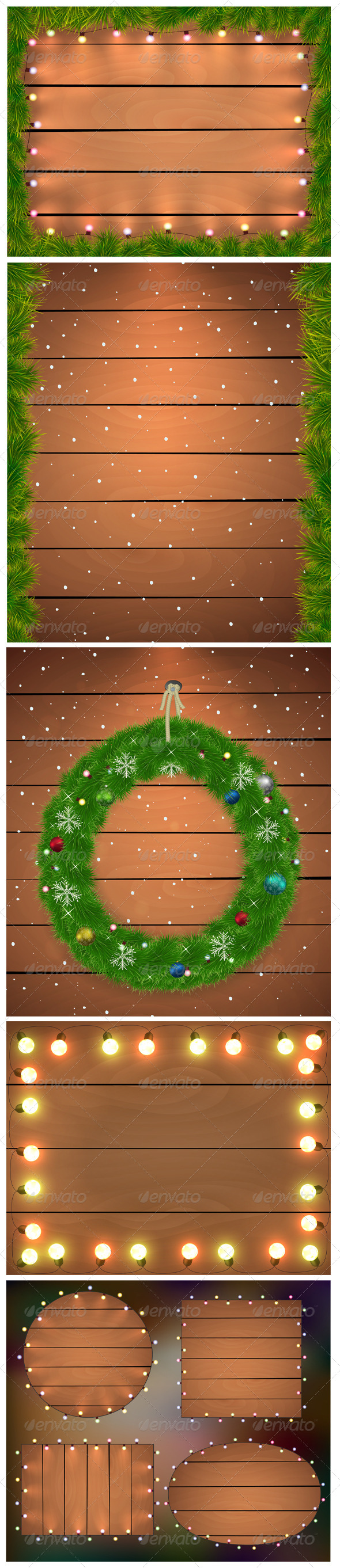 Christmas Backgrounds.  - Christmas Seasons/Holidays