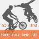 Freestyle BMX Set - GraphicRiver Item for Sale