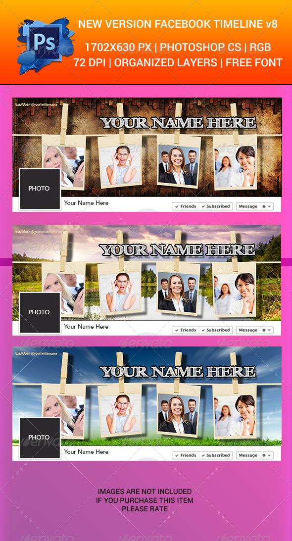 Facebook Timeline Cover v8 - Facebook Timeline Covers Social Media