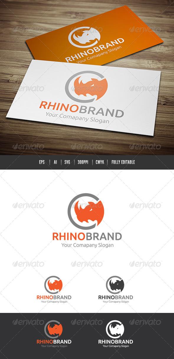 Rhino Brand - Animals Logo Templates