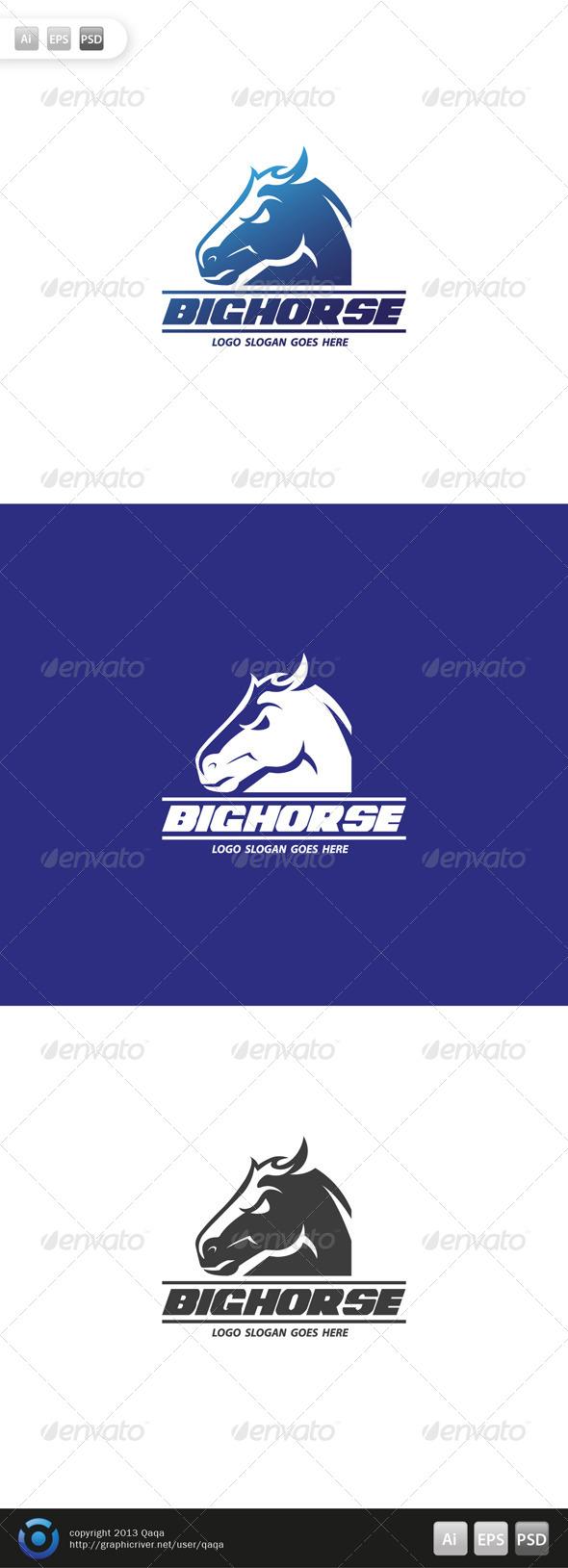 Big Horse Logo - Logo Templates