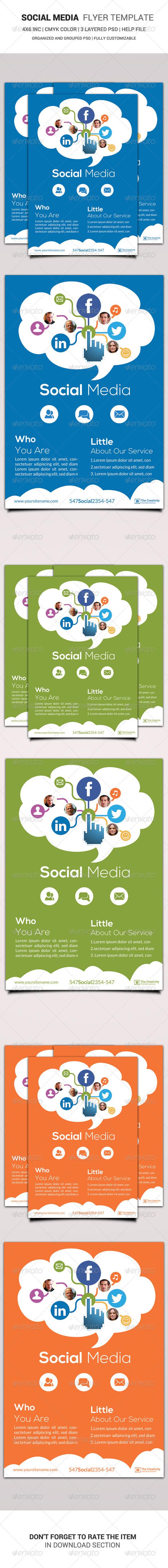 Social Media Flyer Template - Corporate Flyers