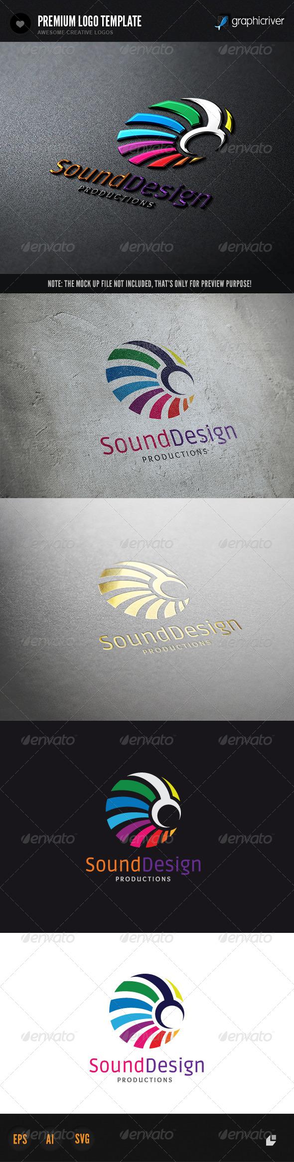 Sound Design - Humans Logo Templates
