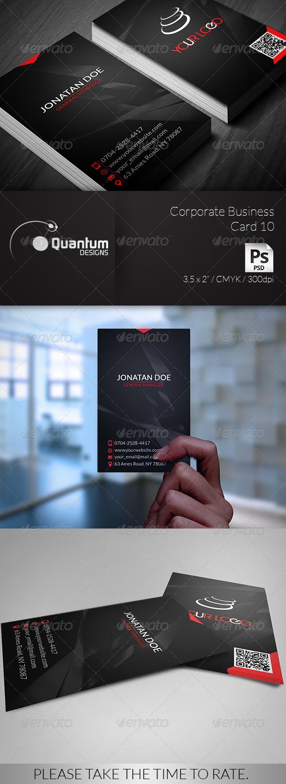 Corporate Business Card 10 - Corporate Business Cards
