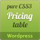 Wordpress Responsive CSS3 Pricing Table - CodeCanyon Item for Sale