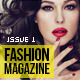 100 Pages Fashion Magazine Issue 1 - GraphicRiver Item for Sale