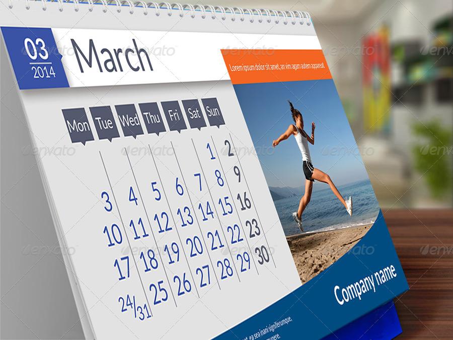 desk calendar 2016 by sremac graphicriver