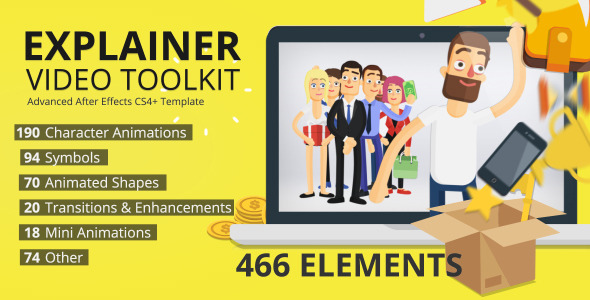 Explainer Video Toolkit By Taerar VideoHive - Explainer video templates