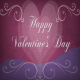 Happy Valentine's Day poster or card design - GraphicRiver Item for Sale