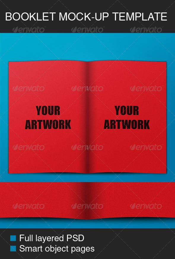 Booklet Mock-up - Brochures Print