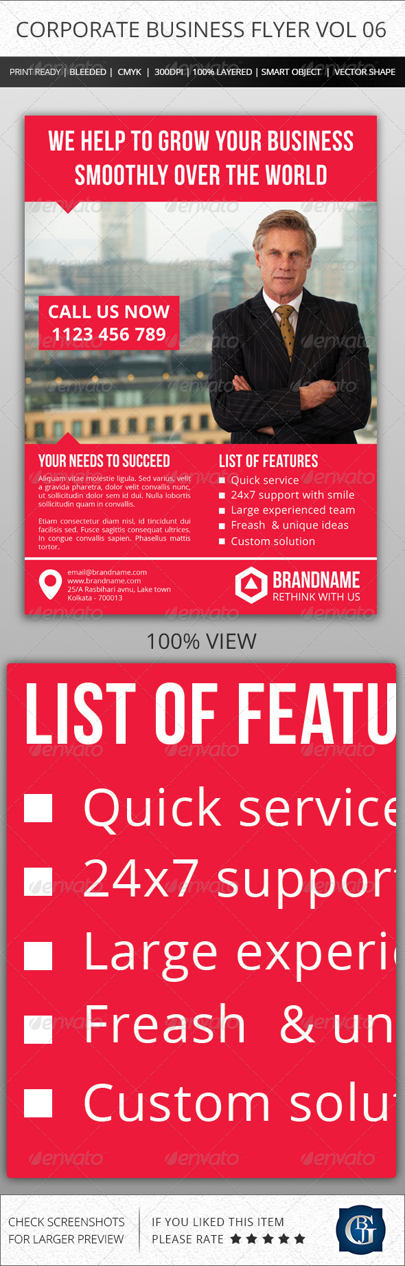 Corporate Creative Business Flyer Vol 06 - Corporate Flyers