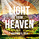 Light From Heaven Flyer - GraphicRiver Item for Sale