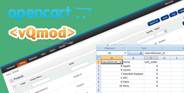 Opencart Export csv Option Vqmod - CodeCanyon Item for Sale