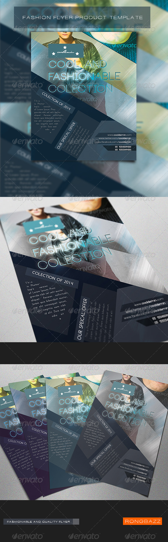 Fashion Product Flyer Template 1.0 - Commerce Flyers
