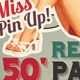Retro 50' Party | Flyer - GraphicRiver Item for Sale