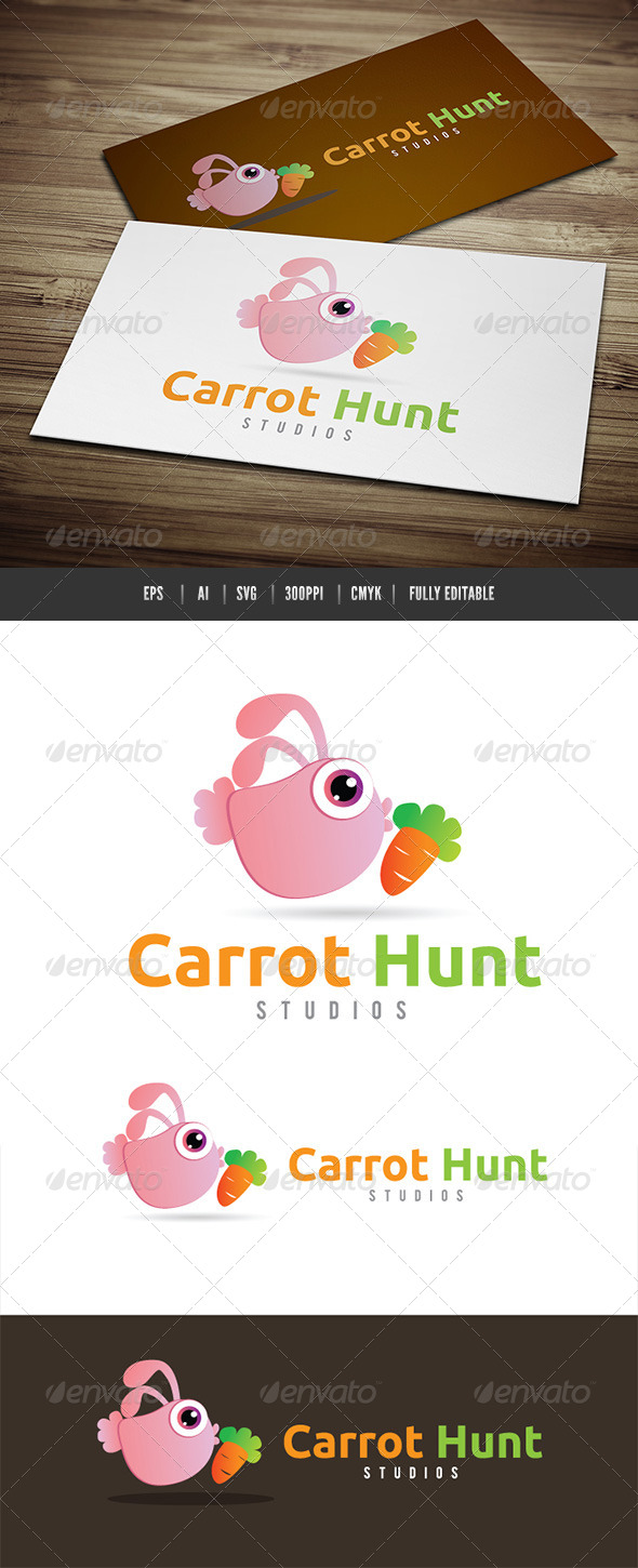 Carrot Hunt Studios - Animals Logo Templates