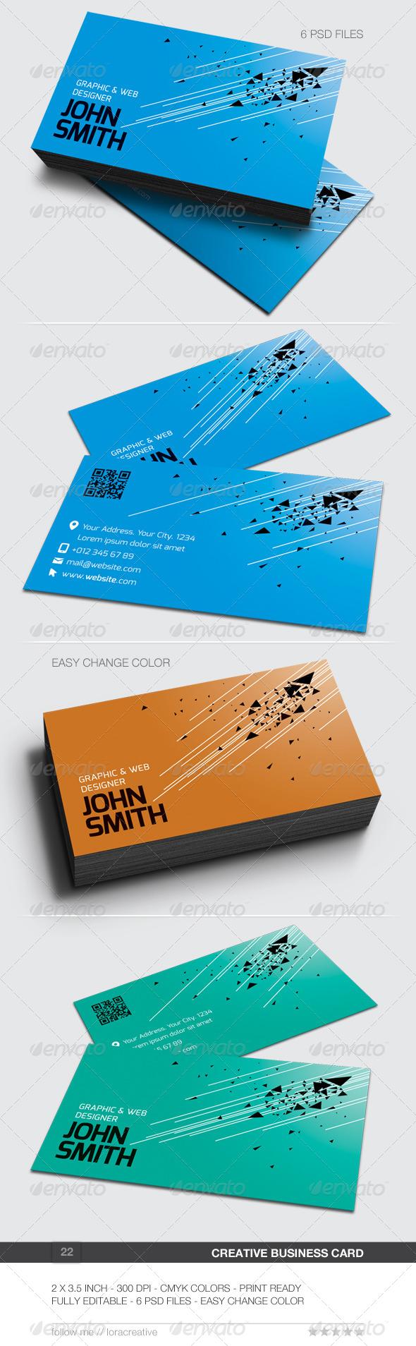 Creative Business Card - 22 - Creative Business Cards