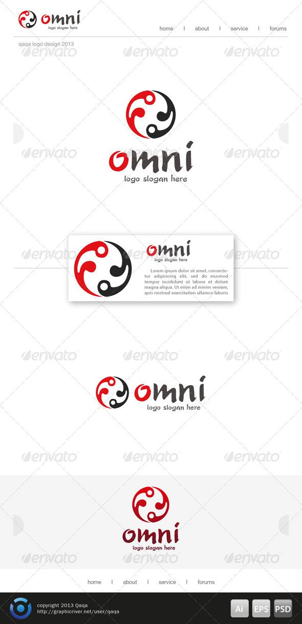 Yin Yang Circle Logo - Logo Templates