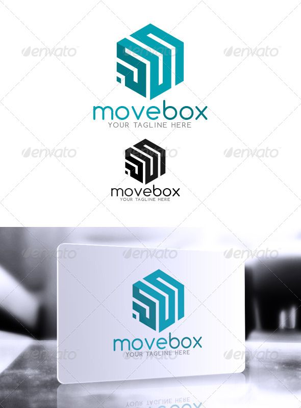 MoveBox Logo - Abstract Logo Templates