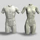 Male and Female Torso - 3DOcean Item for Sale