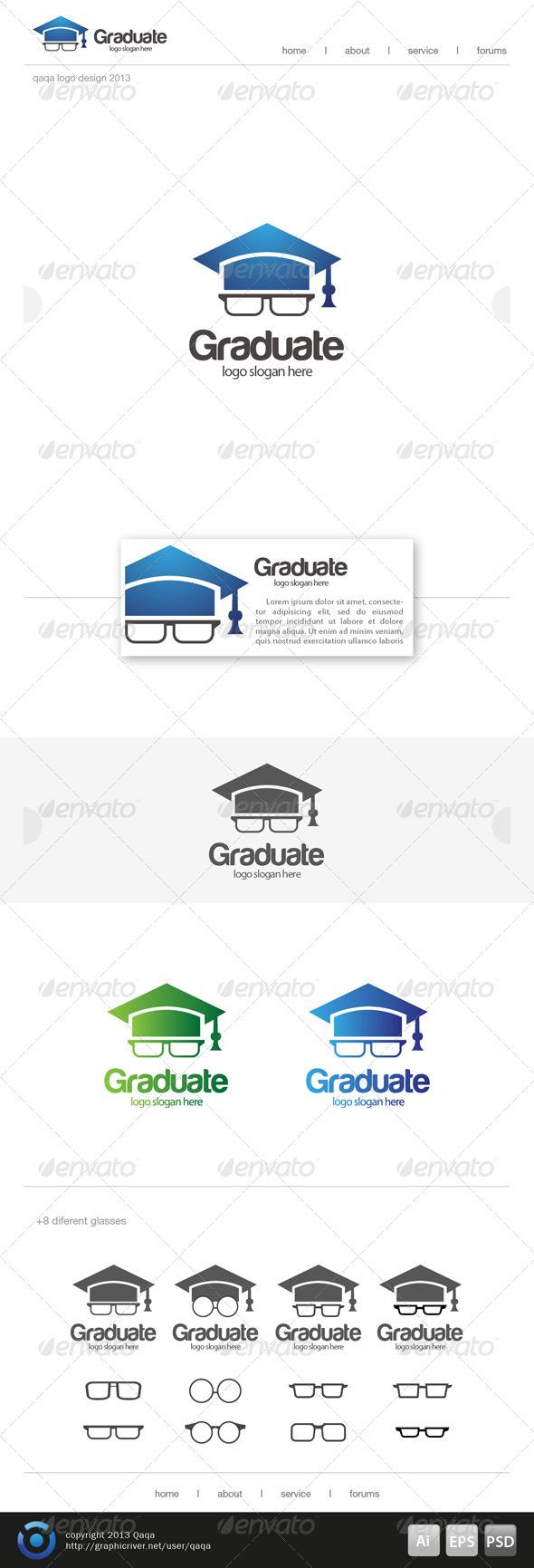 Geeks Graduate Logo - Logo Templates