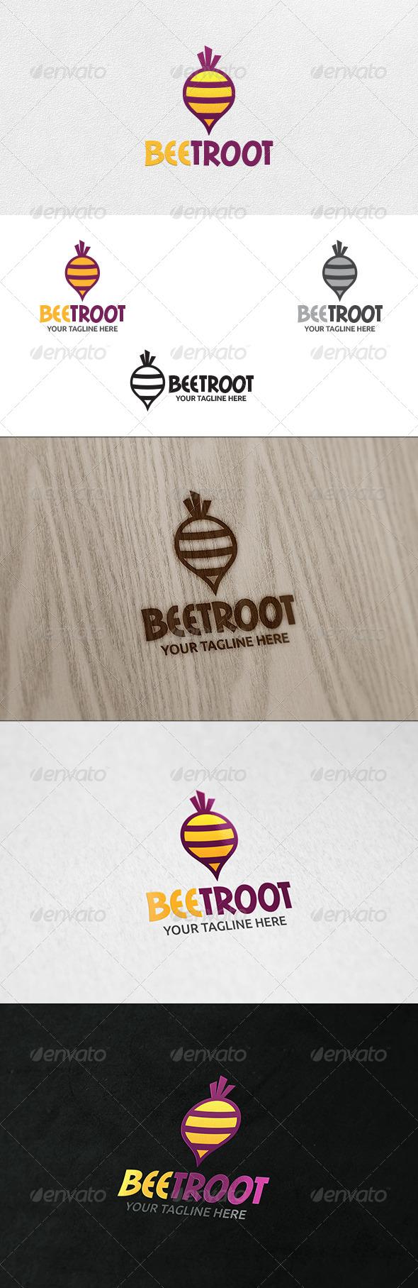 Beetroot - Logo Template - Nature Logo Templates
