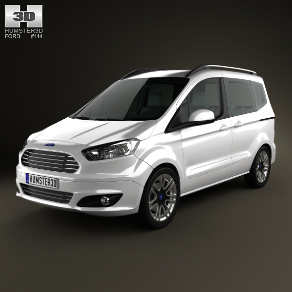 Ford Tourneo Courier 2013 - 3DOcean Item for Sale