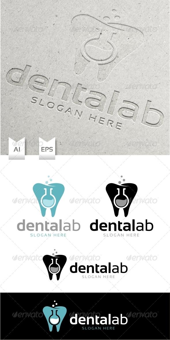 Dental Lab Logo Template - Objects Logo Templates