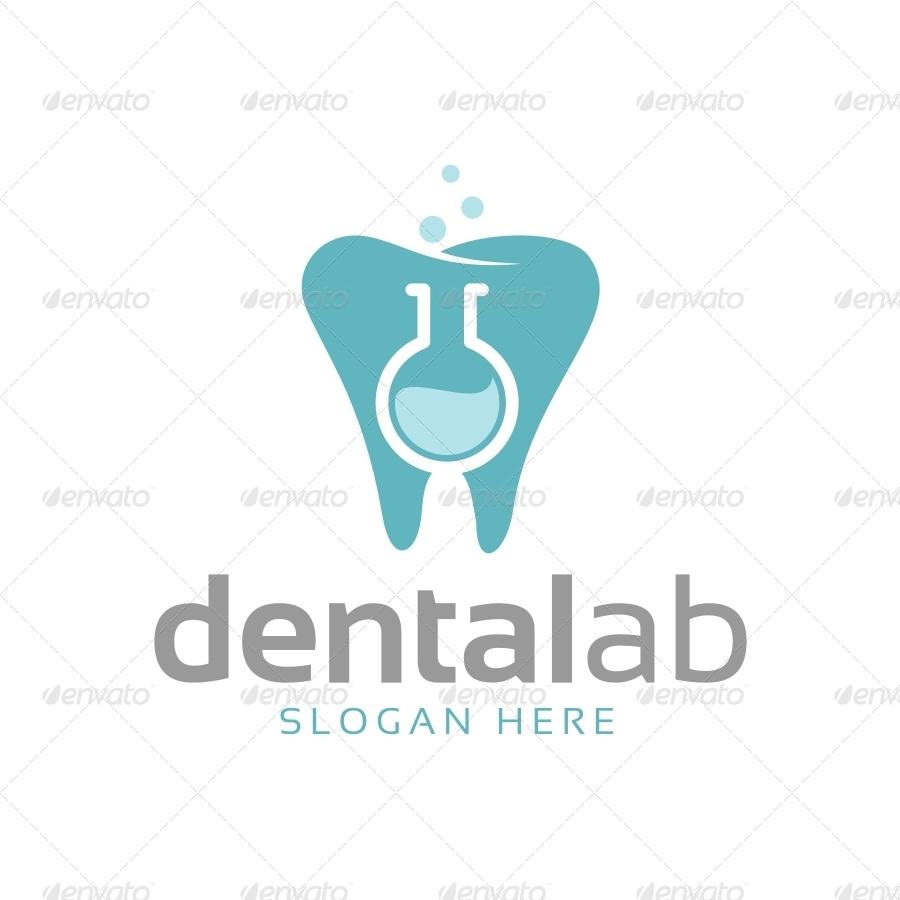 Dental Lab Logo Template by soponyono   GraphicRiver