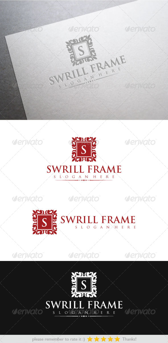 Swrill Frame - Crests Logo Templates