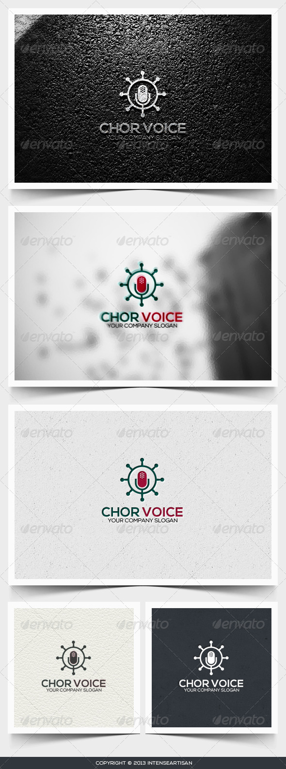 Chor Voice Logo Template - Objects Logo Templates