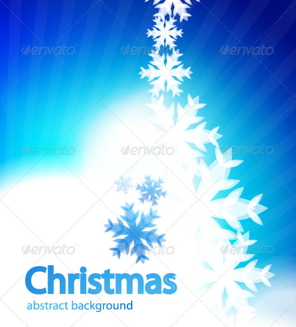 Shiny Christmas vector background - New Year Seasons/Holidays