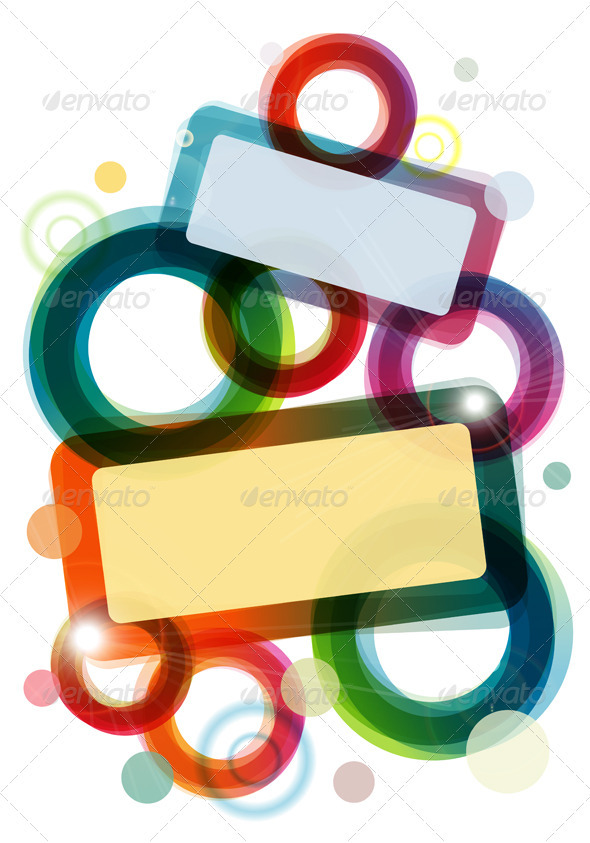 Colourful template - Backgrounds Decorative