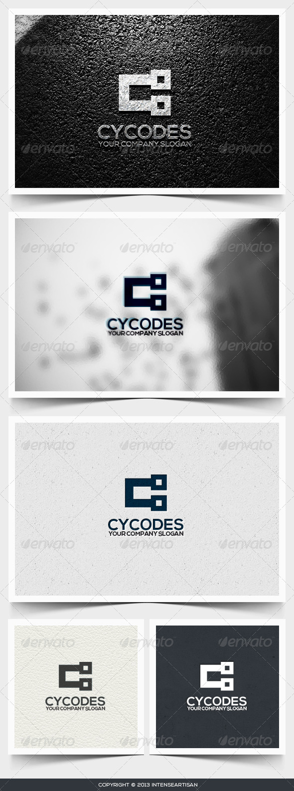 Cycodes Logo Template - Letters Logo Templates