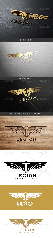 Legion - Crests Logo Templates
