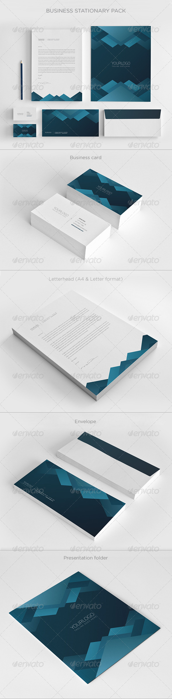Business Stationary Pack III - Stationery Print Templates