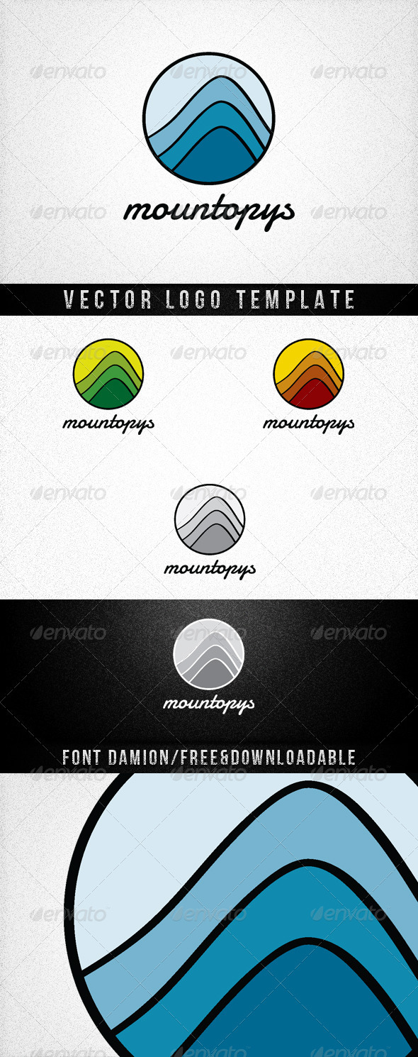 Mountopys - Nature Logo Templates