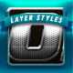 MetalX Layer Styles V1 - GraphicRiver Item for Sale