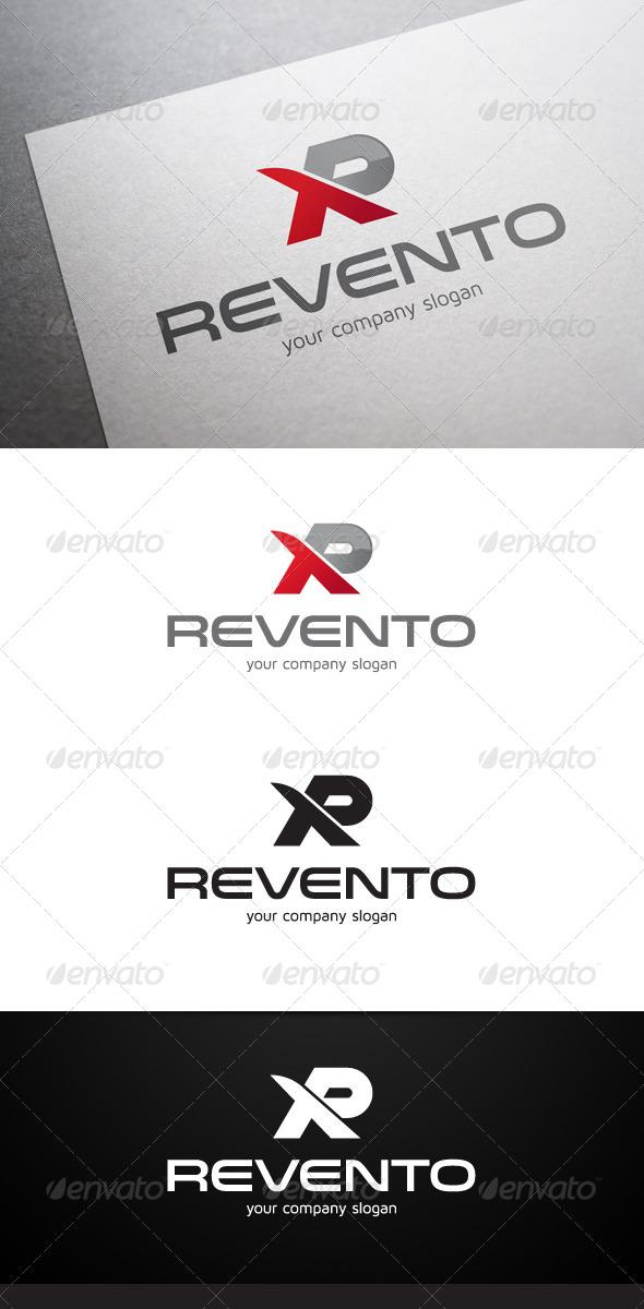 Revento R Letter Logo - Letters Logo Templates
