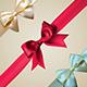Corner Ribbons with Bows Set Illustration - GraphicRiver Item for Sale