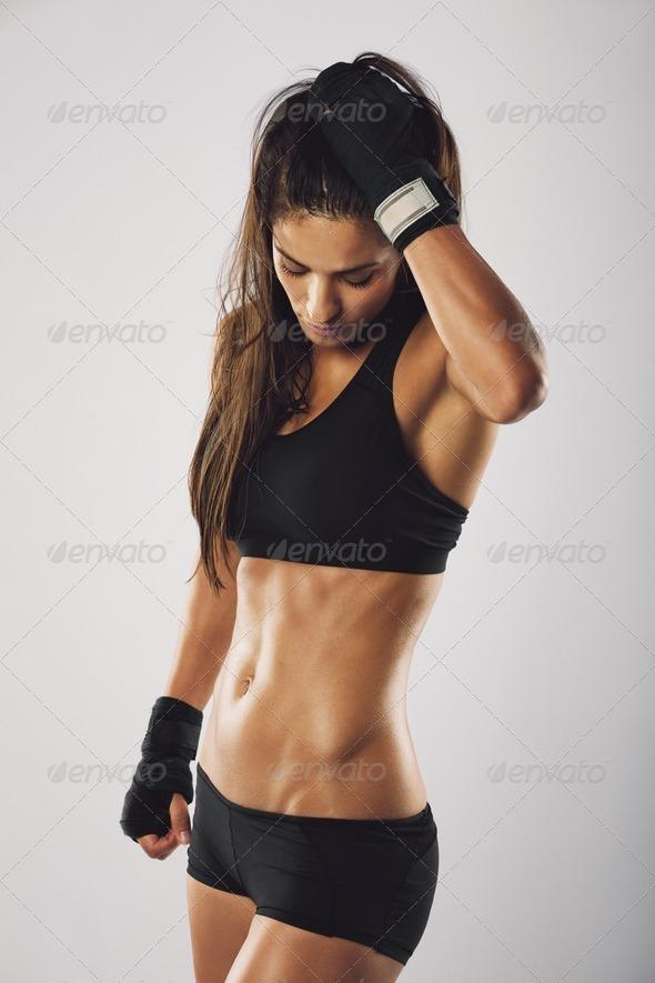 фото женщин в боксерах