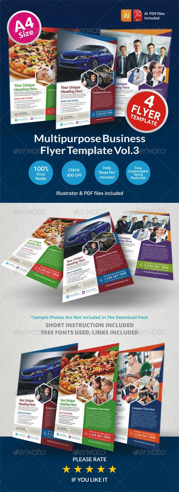 Multipurpose Business Flyer Vol.3 - Corporate Flyers