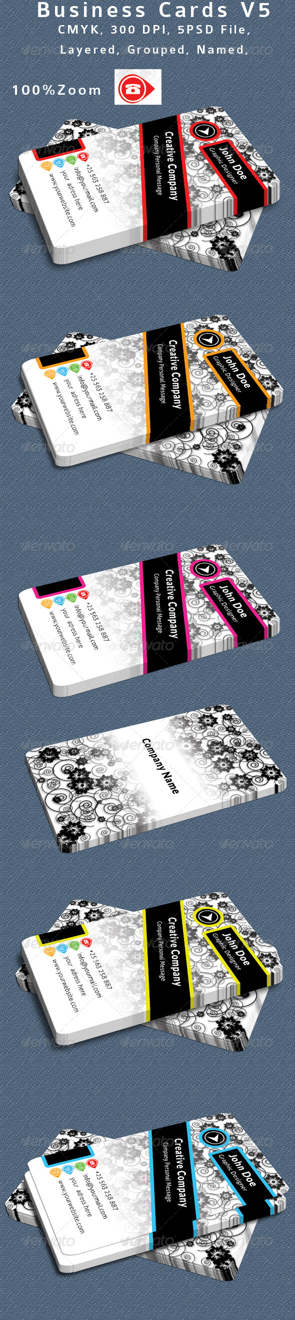 Textured Business Card V5 - Creative Business Cards