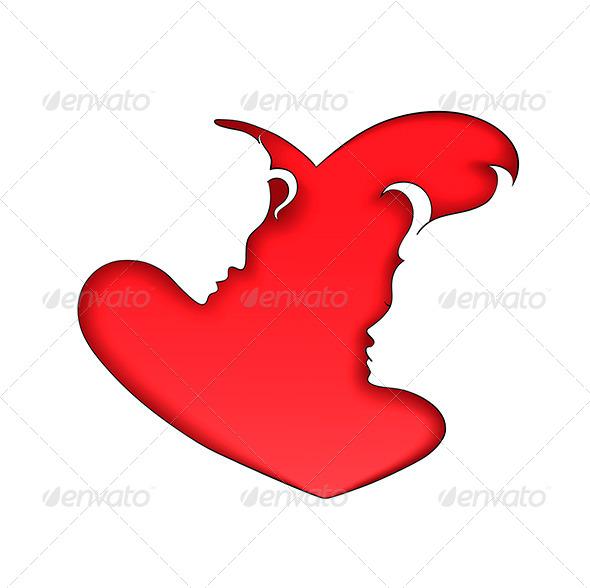Silhouettes of Love - Valentines Seasons/Holidays